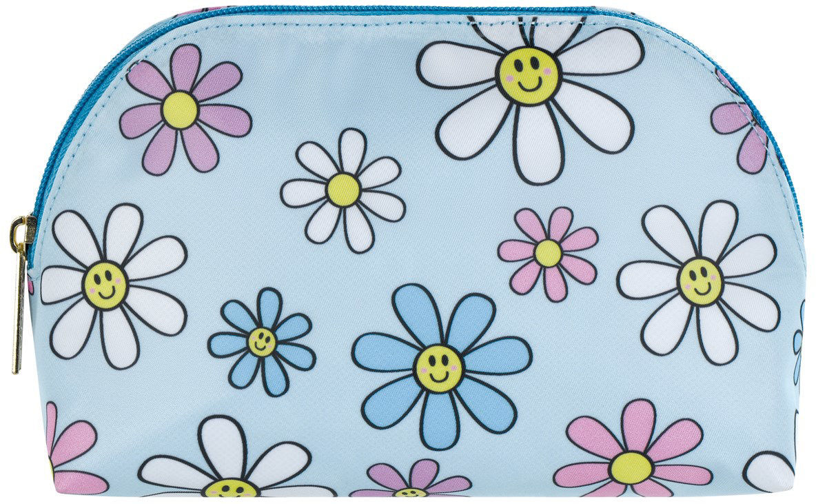 Picture of Daisies Oval Cosmetic Bag