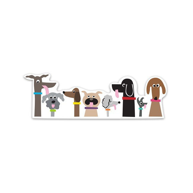 Picture of Dog Pack Sticker