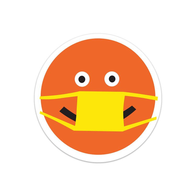 Picture of Happy Face Sticker