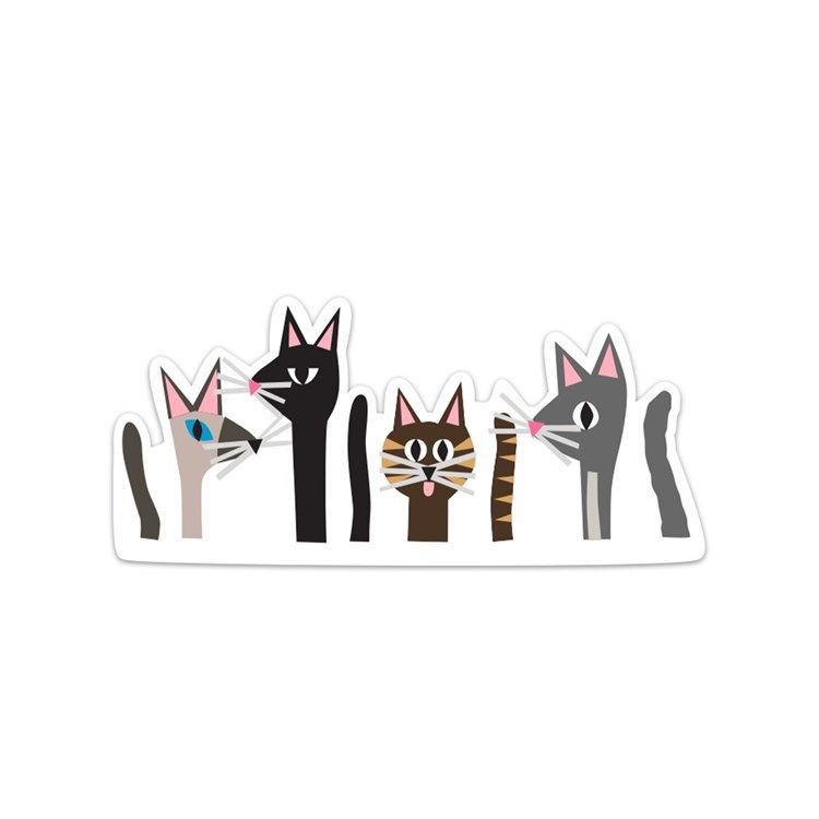 Picture of Cat Pack Sticker