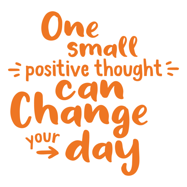 Picture of One Small Positive Thought Vinyl Decal