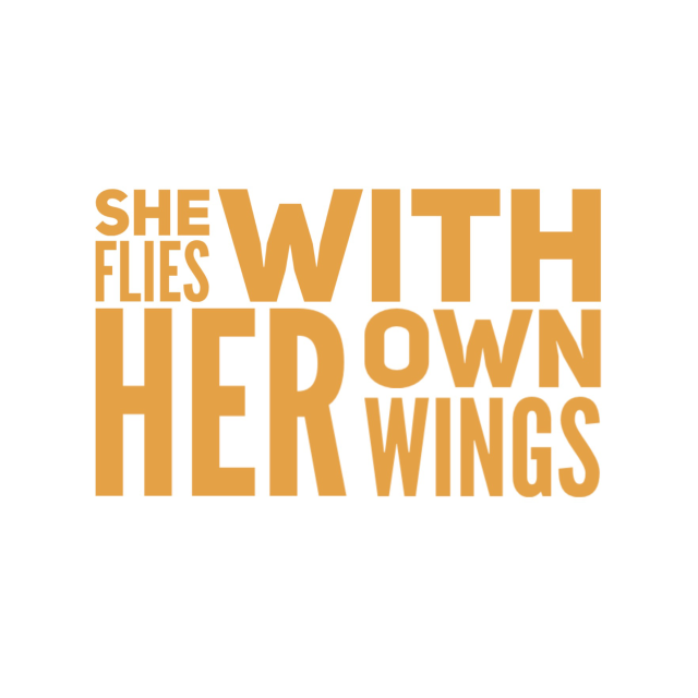 Picture of She Flies with Her Own Wings Vinyl Decal