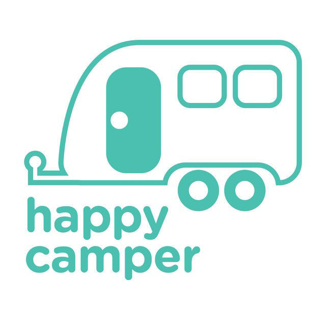 Picture of Happy Camper Vinyl Decal