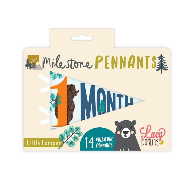 Picture of Little Camper Petit Milestone Pennant