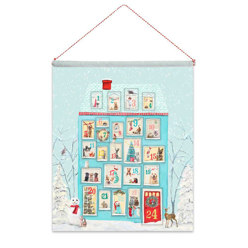 Picture of Holiday Festive Animal House Advent Calendar
